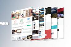 Premium шаблон для Веб-студии, РА, для Фрилансера 36 - kwork.ru