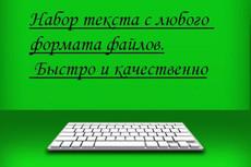 Набор текста, перепечатка сканов, аудио-записей 4 - kwork.ru
