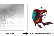 Отрисую в векторе эскиз для пескоструя или нарисую с нуля 22 - kwork.ru