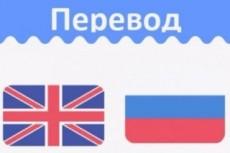 Переведу с английского на русский/украинский язык 11 - kwork.ru
