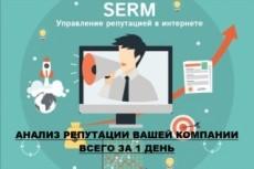 Проведу анализ репутации вашего медицинского учреждения в интернете 5 - kwork.ru