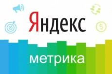 Установим счетчик Яндекс метрики, настроим цели 21 - kwork.ru