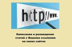 Напишу и размещу 2 статьи на двух сайтах женской тематики 5 - kwork.ru