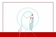 Отрисую логотип или иллюстрацию средней сложности 9 - kwork.ru
