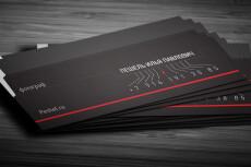 Разработаю уникальный дизайн визитки 13 - kwork.ru