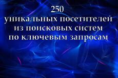 Посетители на сайт 1000 человек по ключевым запросам 8 - kwork.ru