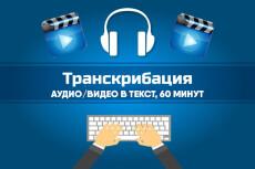 Быстро и грамотно наберу текст с аудио и видео исходника 19 - kwork.ru