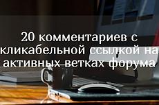 15 ссылок на 15 общих форумах. Комментарии в новых темах. ГЕО - РФ 10 - kwork.ru