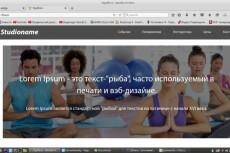 Журнал для фитнеса, адаптивный дизайн и 880 статей + бонус 10 - kwork.ru