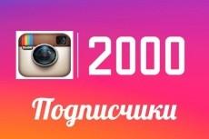 Добавлю 5000 подписчиков в инстаграм 3 - kwork.ru