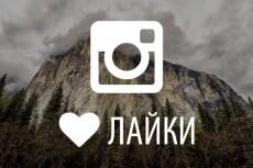 Подписка на лайки instagram 30 дней 10 - kwork.ru