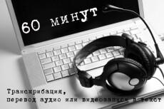 Транскрибация, перевод из аудио / видео / фото / скан в Word 3 - kwork.ru