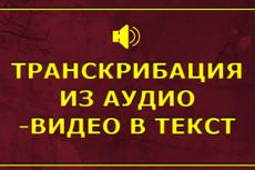 Транскрибация 50 минут аудио или видео в текст 9 - kwork.ru