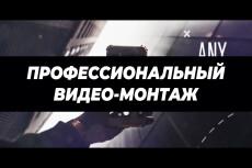 Монтаж, нарезка, склейка, наложение звука на видео 46 - kwork.ru