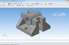 Сделаю модель в solidworks или NX, Компас 3D 48 - kwork.ru