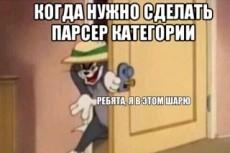 Напишу парсер для любого сайта 9 - kwork.ru