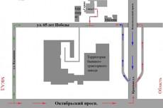 Схема, чертеж, рисунок в DWG , CDR или в растровом формате 15 - kwork.ru