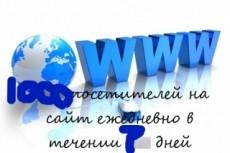 Качественный трафик. 5000 посетителей из Москвы и области 8 - kwork.ru