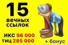 Статья со ссылкой на сайте с ТИЦ 25 - kwork.ru