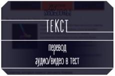 Набор текста в Word , расшифровка видео и аудио файлов 20 - kwork.ru