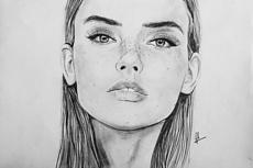 Нарисую портрет по фото 33 - kwork.ru