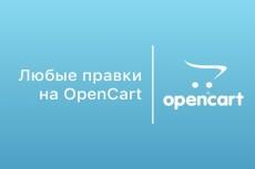 Правки интернет-магазина на OpenCart 9 - kwork.ru