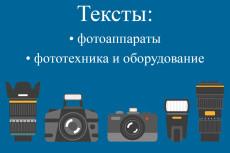 Напишу текст на тему спортивное меню и питание, рецепты блюд 17 - kwork.ru