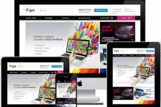 Сделаю дизайн, редизайн главной  страницы вашего сайта 11 - kwork.ru