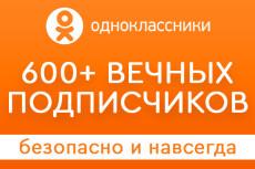Раскрутка Facebook - 600 вечных русскоговорящих подписчиков 14 - kwork.ru