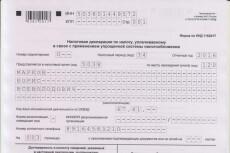 Составление любой налоговой деклараций на ОСНО, УСН, ЕНВД 8 - kwork.ru