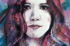 Нарисую ваш портрет акварелью 24 - kwork.ru