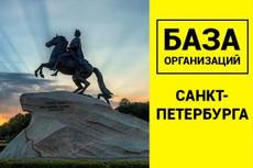 Сбор всех контактов с Яндекс карты 34 - kwork.ru
