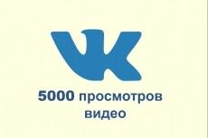 Продвину 2000 просмотров к вашей записи Вконтакте 16 - kwork.ru