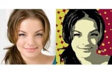 Отрисовка портретов в стиле поп-арт 11 - kwork.ru