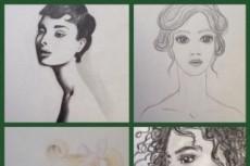 Нарисую fashion иллюстрацию 25 - kwork.ru