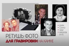 Глянцевая ретушь 5 фото, при заказе 10шт - плюс 2 шт в подарок 25 - kwork.ru