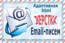 Адаптивная верстка сайта 26 - kwork.ru