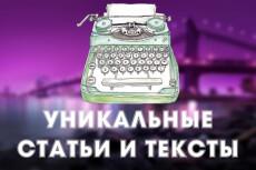 Напишу 6000 символов качественного текста для вашего сайта 9 - kwork.ru