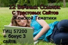 Размещу вручную 17 вечных ссылок с жирных трастовых сайтов 8 - kwork.ru