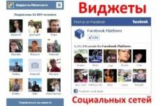 Установлю социальные кнопки на Ваш сайт 5 - kwork.ru