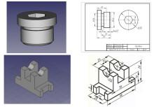 Разработка 3D моделей и чертежей по эскизам 19 - kwork.ru