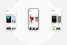 Разработка дизайна для мобильных приложений 30 - kwork.ru