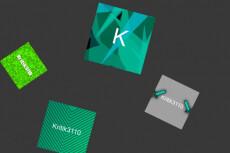 Сделаю пиксельный 3D логотип 6 - kwork.ru