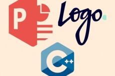 Создам уникальный логотип в 3-х вариантах 4 - kwork.ru