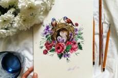 Разработаю дизайн открытки, подарочного пакета или конверта 5 - kwork.ru