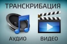 Перевод из аудио и видео в текст, из письменного в электронный 19 - kwork.ru