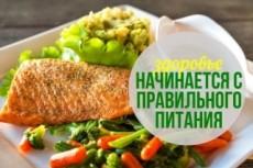 Подготовлю вкусные рецепты на неделю для похудения 23 - kwork.ru
