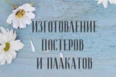 Качественные постеры, плакаты с учетом ваших личных пожеланий 30 - kwork.ru