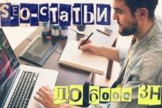 Описание товаров для интернет-магазинов 30 - kwork.ru