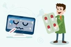 Удалю любые вирусы или вредоносные скрипты с вашего сайта 16 - kwork.ru